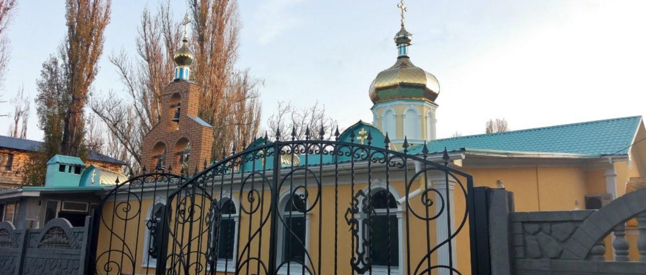 Храм Рождества Христова, пгт. Великодолинское, ст. Аккаржа